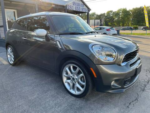 2013 MINI Paceman for sale at QUALITY PREOWNED AUTO in Houston TX