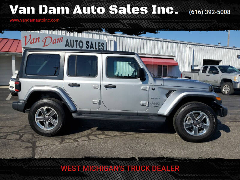 2018 Jeep Wrangler Unlimited for sale in Holland, MI