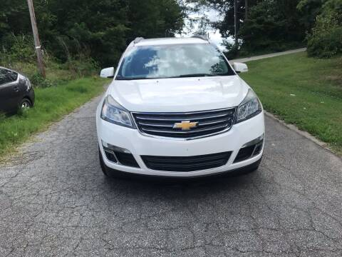 2014 Chevrolet Traverse for sale at Speed Auto Mall in Greensboro NC