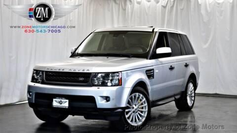 2011 Land Rover Range Rover Sport for sale at ZONE MOTORS in Addison IL
