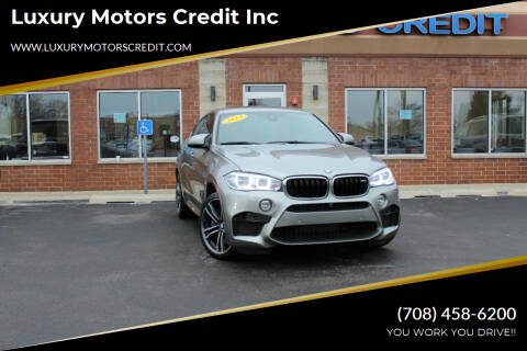 2019 BMW X6 M for sale at Luxury Motors Credit Inc in Bridgeview IL