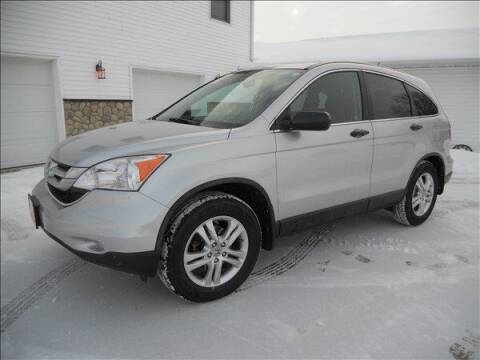 2010 Honda CR-V for sale at OLSON AUTO EXCHANGE LLC in Stoughton WI