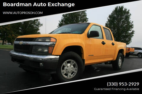 2005 Chevrolet Colorado for sale at Boardman Auto Exchange in Youngstown OH