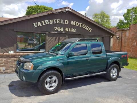 2001 Nissan Frontier for sale at Fairfield Motors in Fort Wayne IN