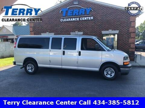 2017 Chevrolet Express Passenger for sale at Terry Clearance Center in Lynchburg VA