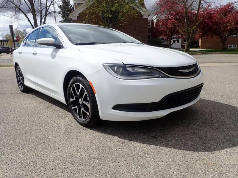 2015 Chrysler 200 for sale at Marvel Automotive Inc. in Big Rapids MI
