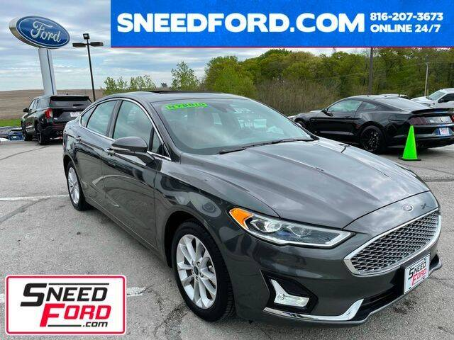 2019 Ford Fusion Energi for sale in Gower, MO