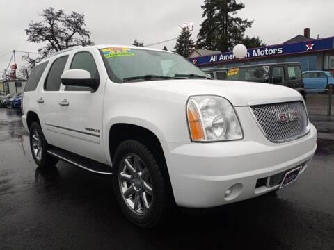2009 GMC Yukon for sale at All American Motors in Tacoma WA