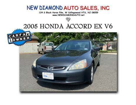 2005 Honda Accord for sale at New Diamond Auto Sales, INC in West Collingswood Heights NJ