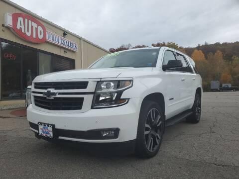 2018 Chevrolet Tahoe for sale at Auto Wholesalers Of Hooksett in Hooksett NH