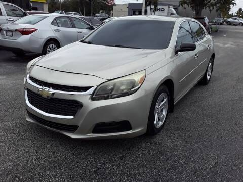 2014 Chevrolet Malibu for sale at YOUR BEST DRIVE in Oakland Park FL