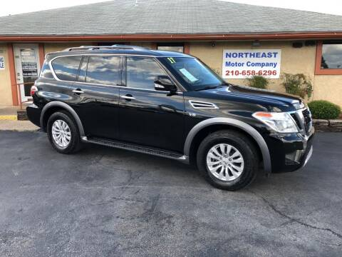 2017 Nissan Armada for sale at Northeast Motor Company in Universal City TX
