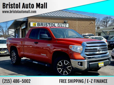 2016 Toyota Tundra for sale at Bristol Auto Mall in Levittown PA