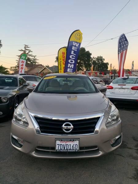 2014 Nissan Altima for sale at Victory Auto Sales in Stockton CA
