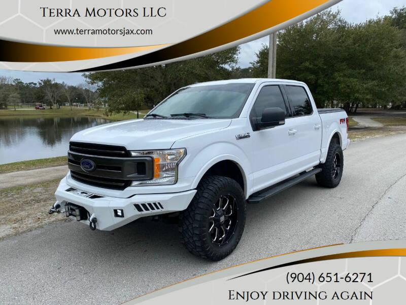 2018 Ford F-150 for sale at Terra Motors LLC in Jacksonville FL