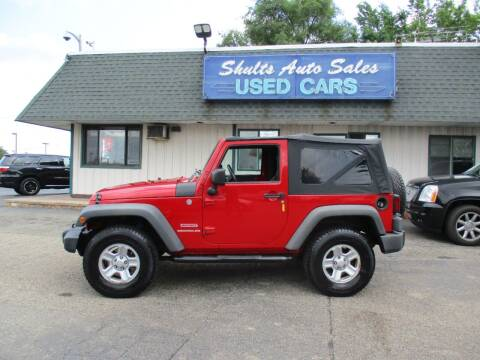 2010 Jeep Wrangler for sale at SHULTS AUTO SALES INC. in Crystal Lake IL