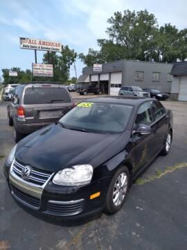 2010 Volkswagen Jetta for sale at D and D All American Financing in Warren MI