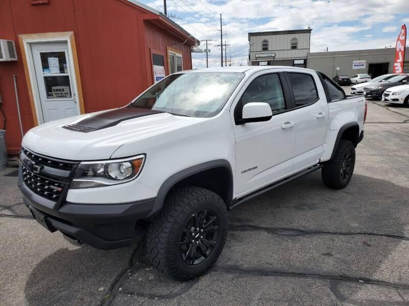 2019 Chevrolet Colorado for sale at Curtis Auto Sales LLC in Orem UT