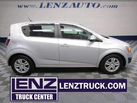 2014 Chevrolet Sonic for sale at LENZ TRUCK CENTER in Fond Du Lac WI