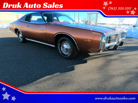 1974 Dodge Charger for sale at Druk Auto Sales in Ramsey MN