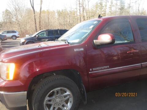 2009 GMC Sierra 1500 for sale at D & F Classics in Eliot ME