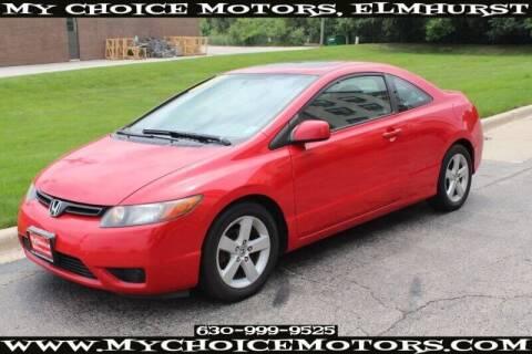 2006 Honda Civic for sale at My Choice Motors Elmhurst in Elmhurst IL