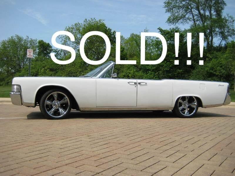 1965 Lincoln Continental for sale at Classic Auto Haus in Geneva IL