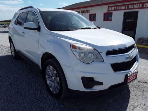 2011 Chevrolet Equinox for sale at Sarpy County Motors in Springfield NE