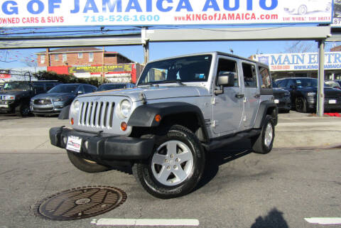 2011 Jeep Wrangler Unlimited for sale at MIKEY AUTO INC in Hollis NY