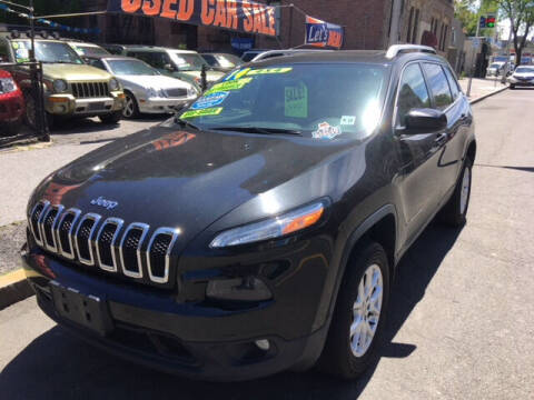 2014 Jeep Cherokee for sale at ARXONDAS MOTORS in Yonkers NY