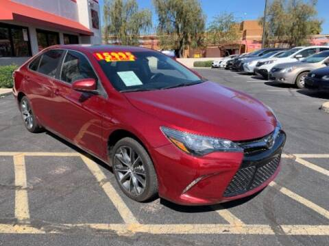 2015 Toyota Camry for sale at Brown & Brown Wholesale in Mesa AZ