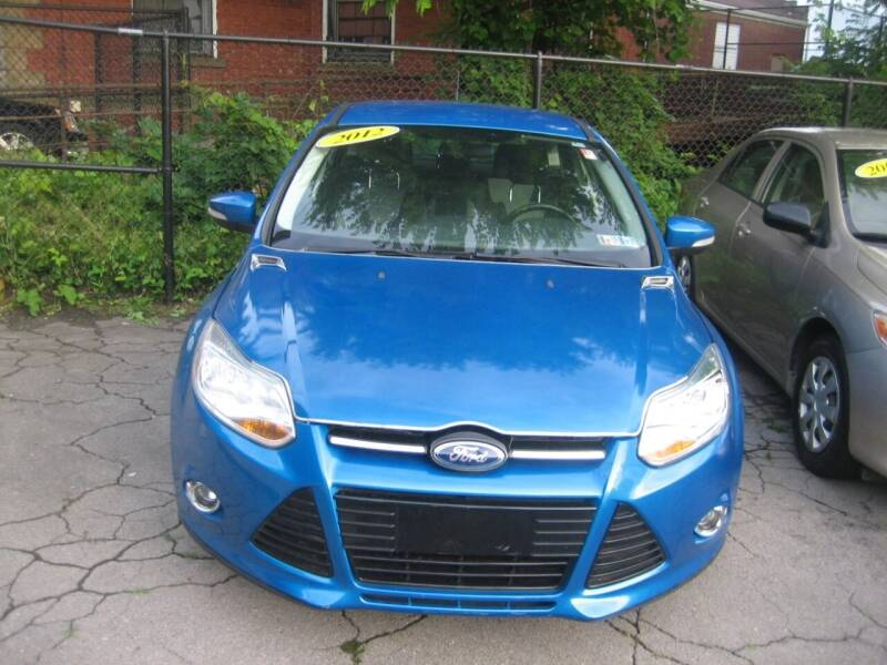 2012 Ford Focus for sale at B. Fields Motors, INC in Pittsburgh PA