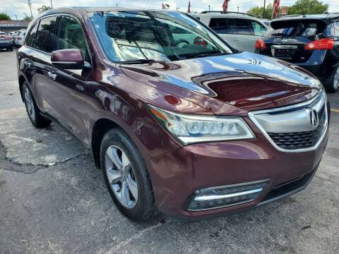 2014 Acura MDX for sale at America Auto Wholesale Inc in Miami FL