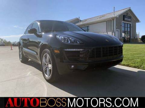 2016 Porsche Macan for sale at Auto Boss in Woodscross UT