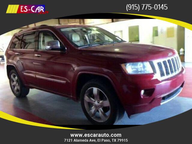 2011 Jeep Grand Cherokee for sale at Escar Auto in El Paso TX