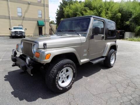 2004 Jeep Wrangler for sale at S.S. Motors LLC in Dallas GA