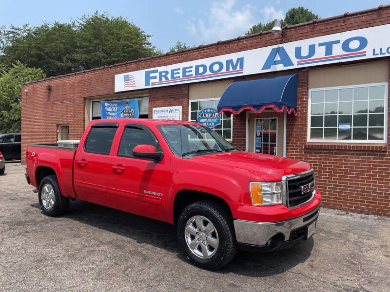2011 GMC Sierra 1500 for sale at FREEDOM AUTO LLC in Wilkesboro NC