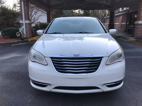 2011 Chrysler 200 for sale at Affordable Dream Cars in Lake City GA