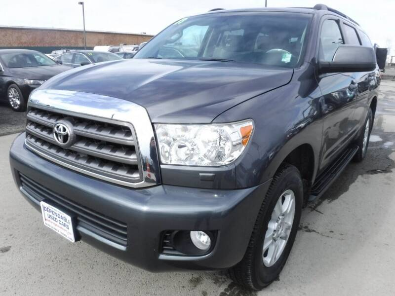 2013 Toyota Sequoia for sale at Dependable Used Cars in Anchorage AK