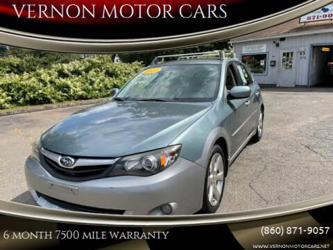 2010 Subaru Impreza for sale at VERNON MOTOR CARS in Vernon Rockville CT