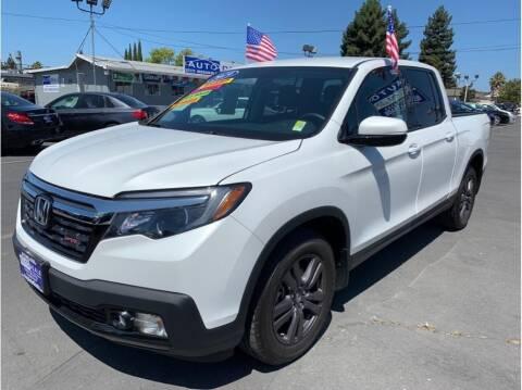 2019 Honda Ridgeline for sale at AutoDeals in Hayward CA