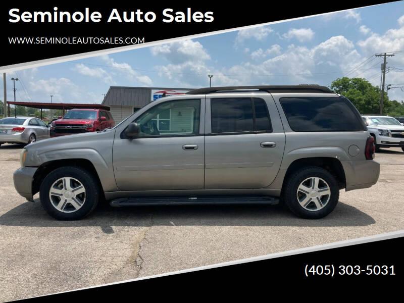 2006 Chevrolet TrailBlazer EXT for sale at Seminole Auto Sales in Seminole OK