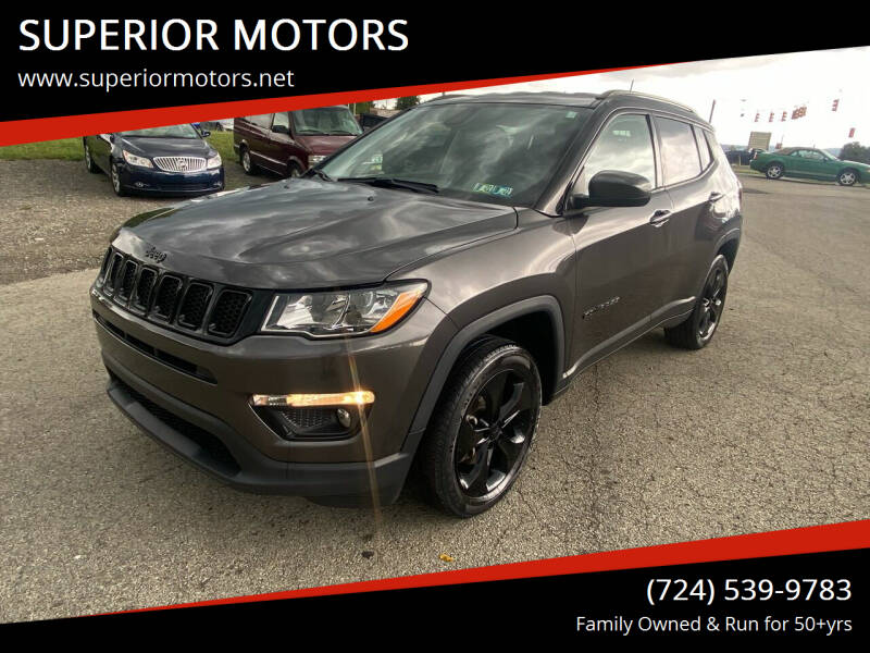 2018 Jeep Compass for sale at SUPERIOR MOTORS in Latrobe PA
