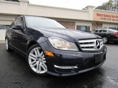 2012 Mercedes-Benz C-Class for sale at North Georgia Auto Brokers in Snellville GA