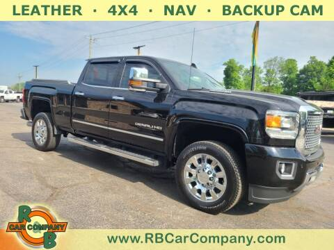 2017 GMC Sierra 2500HD for sale at R & B CAR CO - R&B CAR COMPANY in Columbia City IN