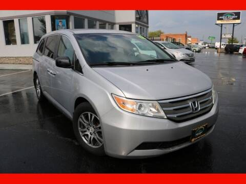 2012 Honda Odyssey for sale at AUTO POINT USED CARS in Rosedale MD