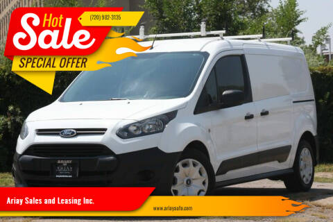 2016 Ford Transit Connect Cargo for sale at Ariay Sales and Leasing Inc. - Pre Owned Storage Lot in Glendale CO