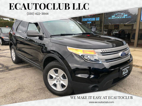 2011 Ford Explorer for sale at ECAUTOCLUB LLC in Kent OH