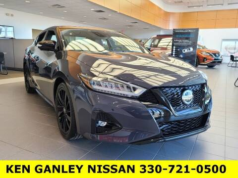 2021 Nissan Maxima for sale at Ken Ganley Nissan in Medina OH