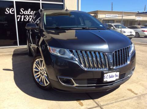 2014 Lincoln MKX for sale at SC SALES INC in Houston TX